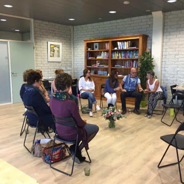 Workshop in actie bij de Groene Linde