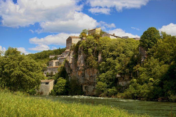 Balazuc in Frankrijk