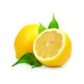 Citroenolie gemaakt van de citroen.