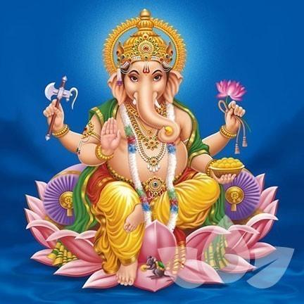 Ganesha helpt je om opnieuw te beginnen, na een periode van stagnatie.