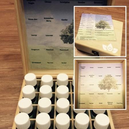 Een prachtige startbox met 25 van onze populairste natuurzuivere etherische oliën.