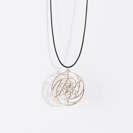 Golden Spiral Kracht Symbool Hanger genereert Overvloed in je leven