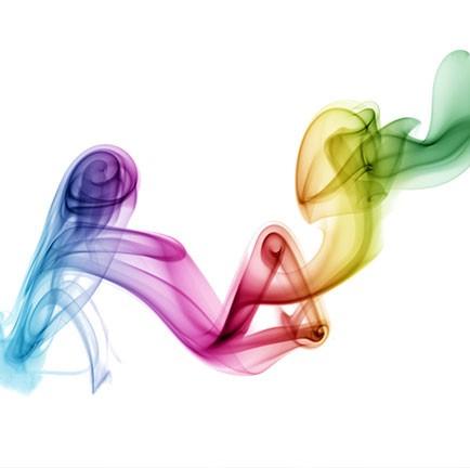 Rainbow shower; het mengsel van alle healing Rays van de Groene Linde