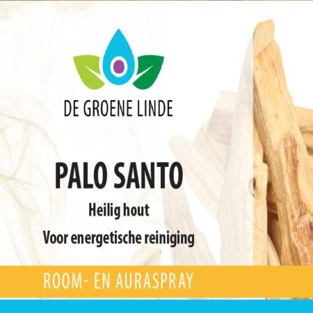 Palo Santo roomspray, natuurzuivere reiniging van de Groene Linde