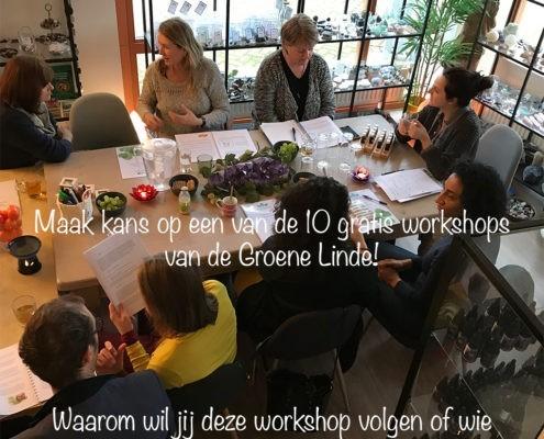 Gratis workshop Werken met Geurfrequenties op zondag 15 april 2018.