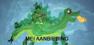 De aanbieding van mei 2018, de Drakenlijn van de Groene Linde door Thijmen