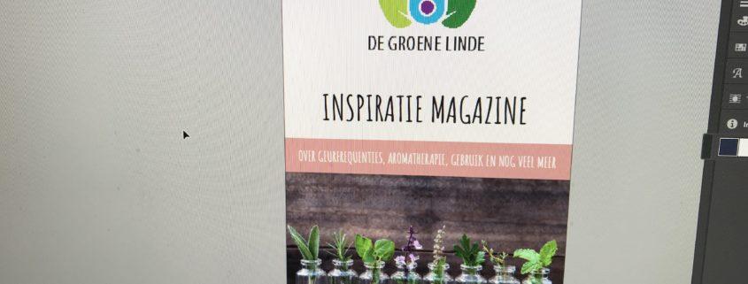 Het nieuwe inspiratie magazine 2019 van de Groene Linde is uit.