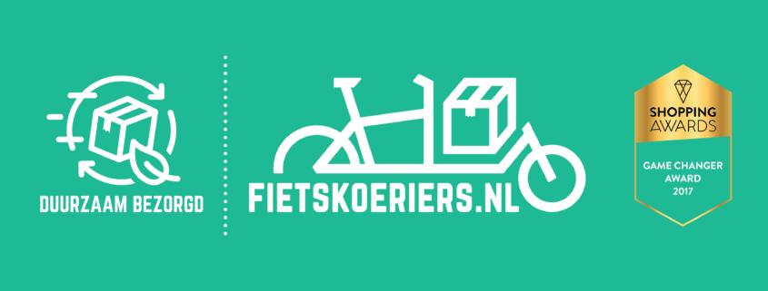 Duurzame pakket bezorging van de Groen Linde door Fietskoeriers.nl